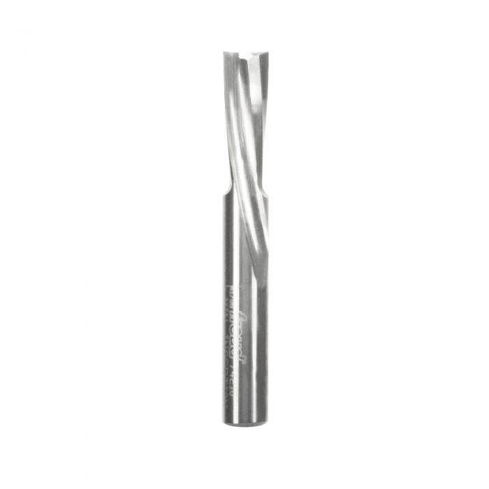 Freud 1//4 Dia. Solid Carbide O-Flute Down Spiral Bit with 1//4 Shank 74-204