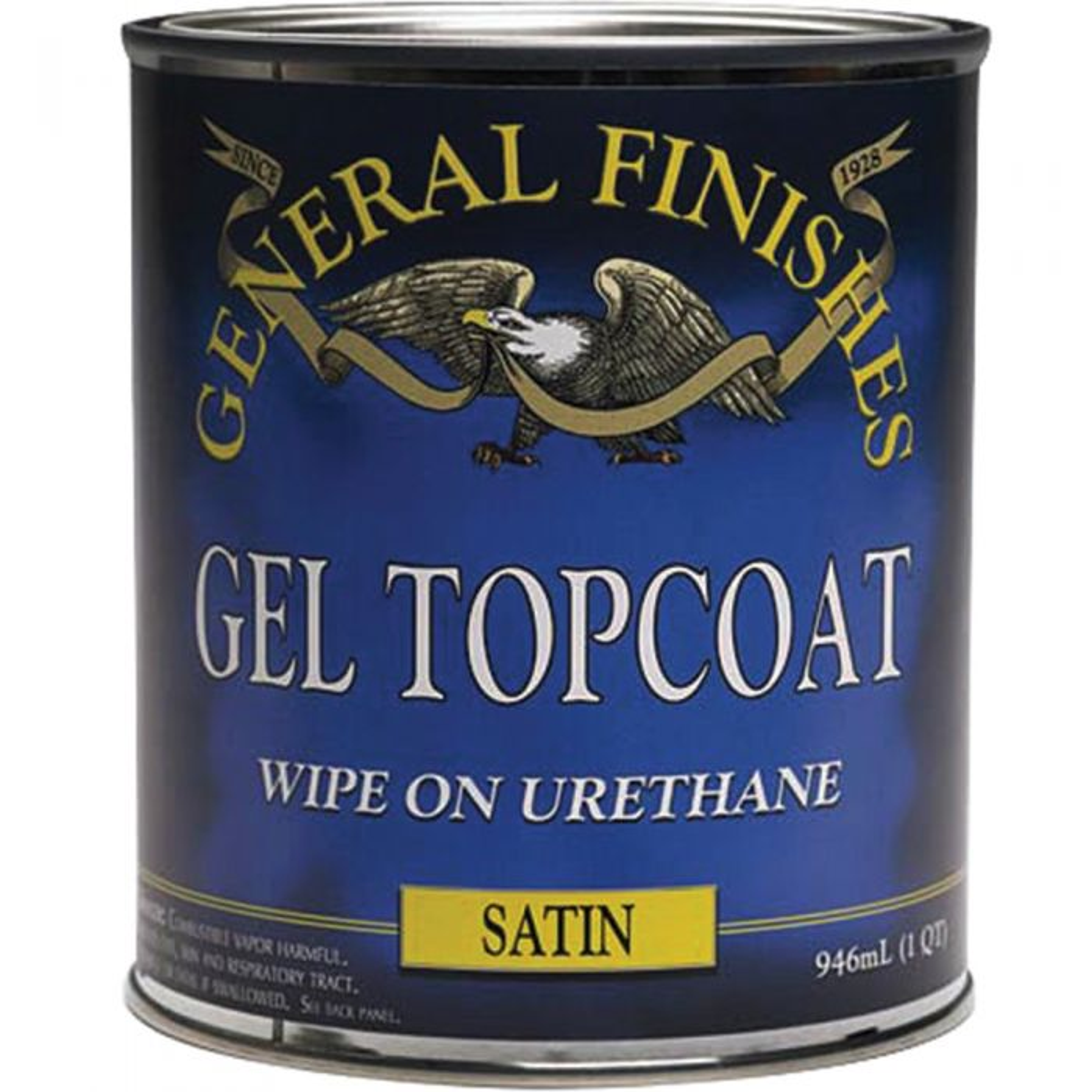 General Finishes Gel Satin Top Coat
