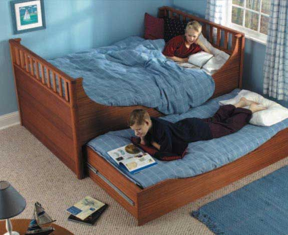 Woodworker's Journal Trundle Bed Plan | Rockler Woodworking and