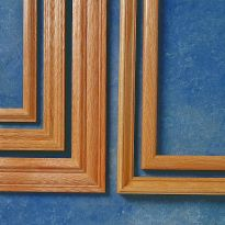 Picture Frame Molding from Left to Right: (SKU) 11127, 11134, 11141, 43029, 43016