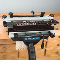 Dovetail Jig shown with Dust Collector