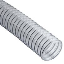 Clear Flexible Dust Collection Hose - 2-1/2'' Diameter