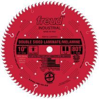 "10"" x 80T Freud Industrial Double Sided Laminate/Melamine Blade (LU97R010)"