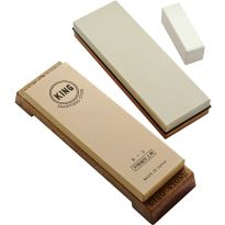 3 Piece Waterstone Set includes a Combination, a Single Grit and a Nagura Stone