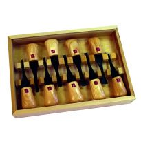 9-piece Deluxe Palm Set (34159) meets a variety of carving needs