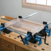 Assemble and glue-up raised panel doors the easy way.