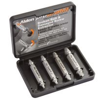 Set of four Grabit bits can remove a wide range of damaged screws and bolts