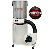 Jet Vortex Dust Collector 1.5HP w/Canister Filter DC-1100VX-CK
