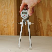 Use it to scribe perfect circles, arcs, or stepping out equal distances in odd measurements