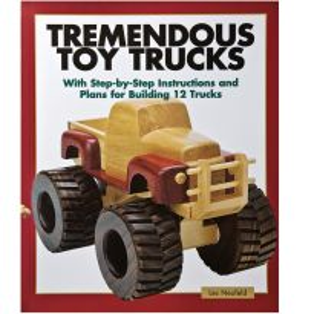 Tremendous Toy Trucks Book