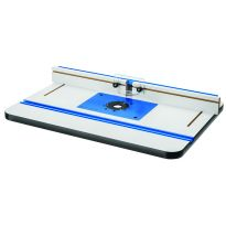 Rockler High Pressure Laminate Router Table, Fence and Phenolic Plate