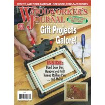Woodworker's Journal - November/December 2016