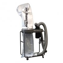 Supermax 1-1/2 HP Dust Collector