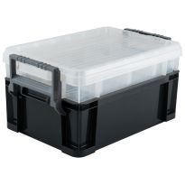 18'' 3-Way Stackable Storage Tote