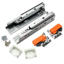 Blum Tandem Plus Blumotion Drawer Slides are available in a range of lengths.