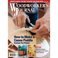 Woodworker's Journal - May/June 2015