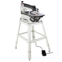Jet JWSS-22 22'' Scroll Saw with Foot Switch and Stand