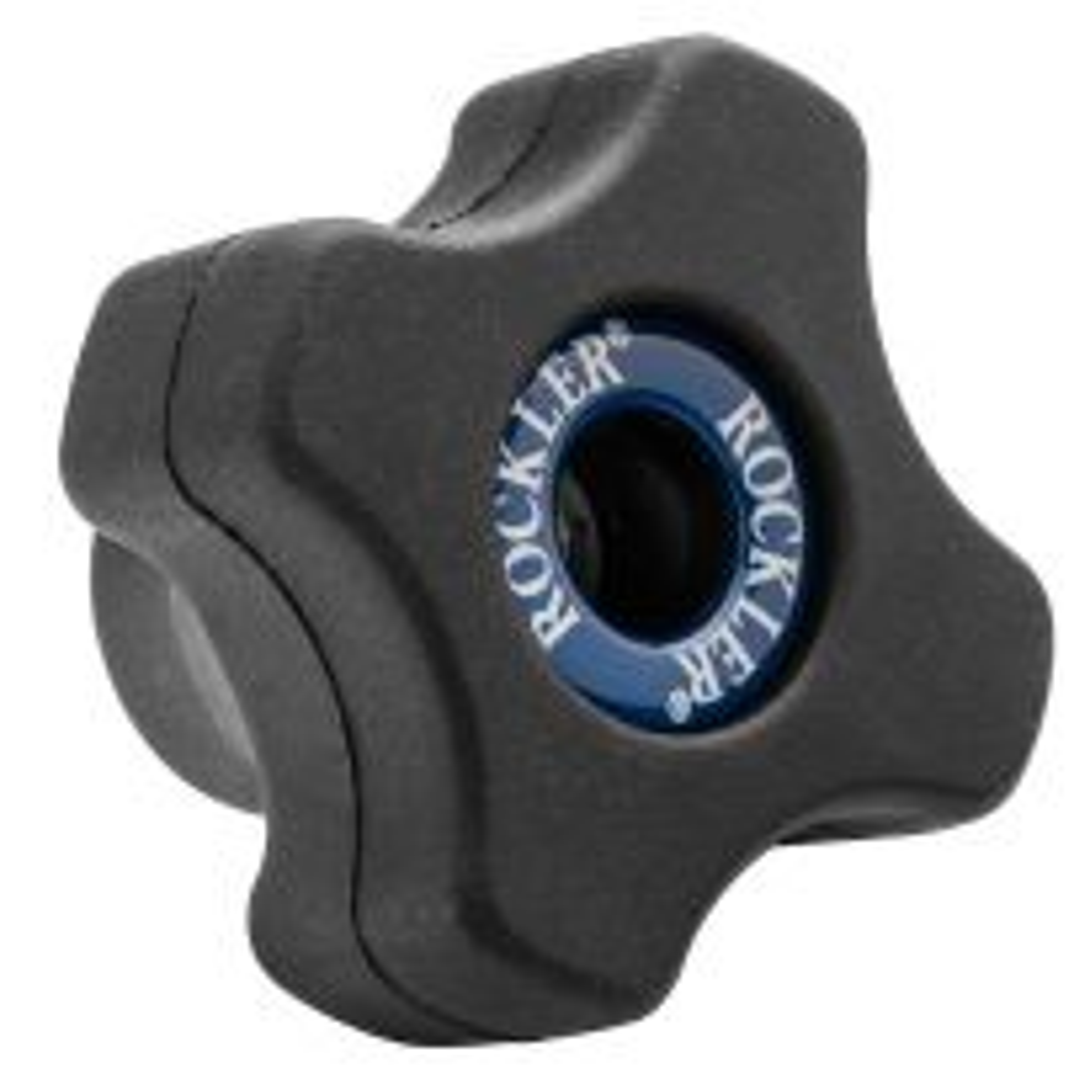 Rockler Easy-to-Grip 4-Star Knob, Female Threading