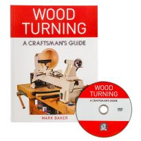 Wood Turning - A Craftsman's Guide, Book with DVD