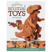 Animated Animal Toys in Wood, Book