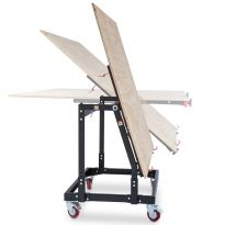 Vertical position also allows passage through a service door as narrow as 30''