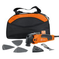 Fein FMM350QSL MultiMaster Oscillating Multi-Tool with Start Q Kit and Soft Bag