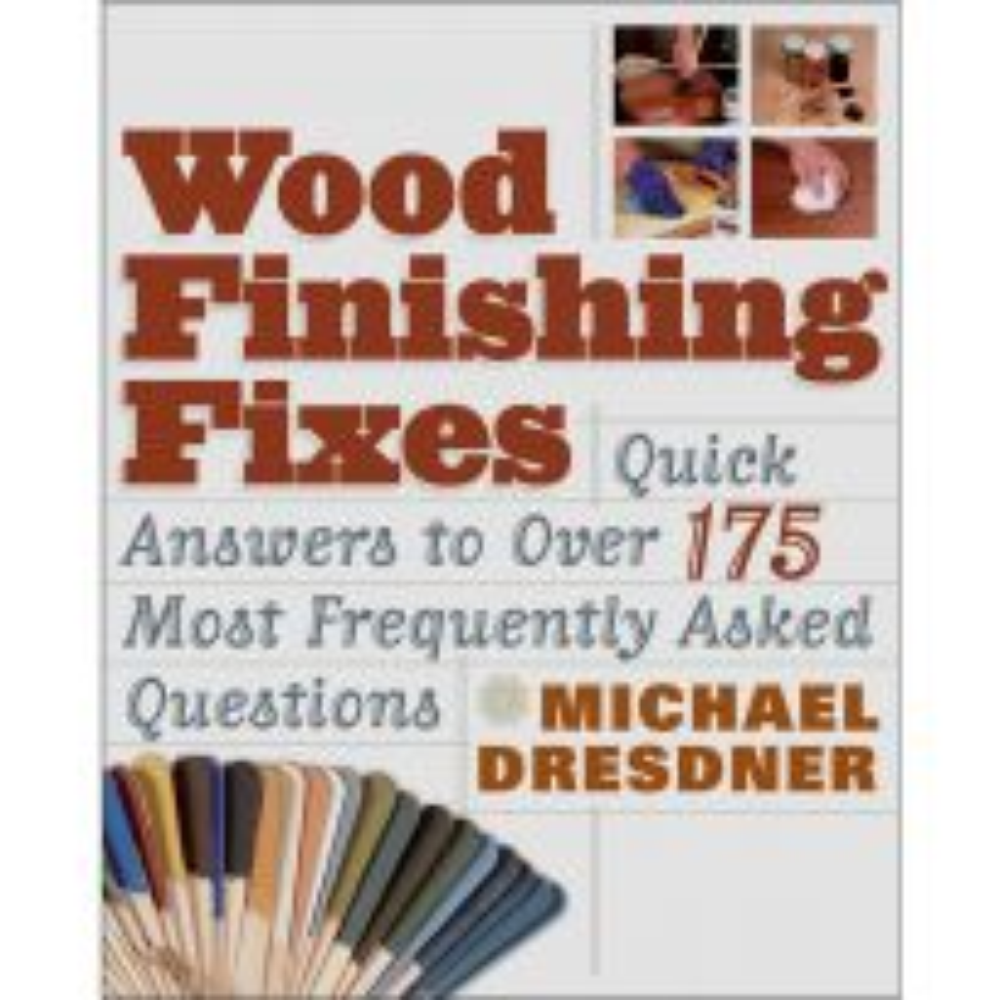 Wood Finishing Fixes, Book