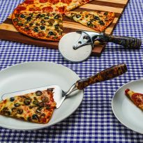 Perfect companion for our Pizza Cutter Turning Kit (#34913, sold separately).