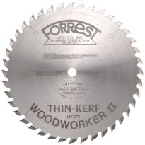 10'' x 40T Forrest Woodworker II Thin Kerf General Purpose Blade