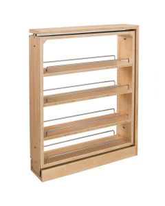 Rev-A-Shelf Filler Pullout Organizer with Adjustable Shelves for Base Cabinets (432-BF Series)