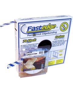 50ft and 250 ft rolls of Fastedge edge banding