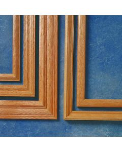 Oak Picture Frame Molding - Select Profile