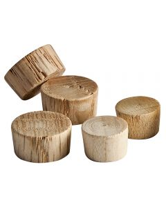 Flat Top End Grain Plugs-3/8 inch