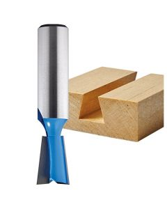 """Rockler 7° Dovetail Router Bit for Porter-Cable 4210 and 4212 Dovetail Jigs - 17/32"""" Dia x 3/4"""" H x 1/2"""" Shank"""