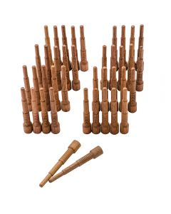 1x Miller Walnut Dowels, 40 Pack