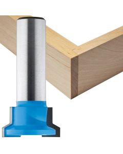 "Rockler Drawer Lock Router Bit - 1"" Dia x 1/2"" H x 1/2"" Shank"