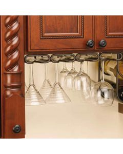 Rev-A-Shelf Under Cabinet Quad Stemware Organizer (3450 Series)