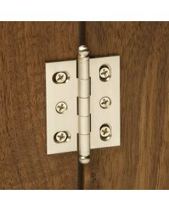 """Deluxe Butt Hinges – 2"""" L x 1-3/4"""" W, Ball Tip"""