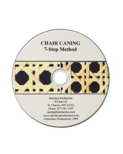 Chair Caning - 7-Step Method DVD