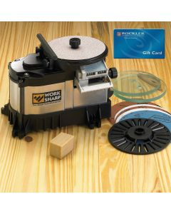Work Sharp WS3000 Tool Sharpener with FREE $10 Gift Card