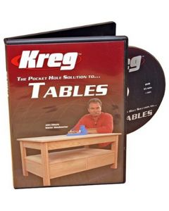Kreg DVD: The Pocket Hole Solution to Tables