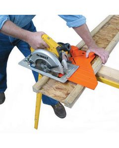 Pro-Cut instantly aligns your saw to the cut line.
