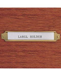 Label Holders-Select card sizes