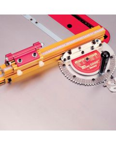 Get perfect, repeatable accuracy every time - wheter making basic 90 degree cut-offs, simple picture frames, complex compound miters, or a 20-sided object