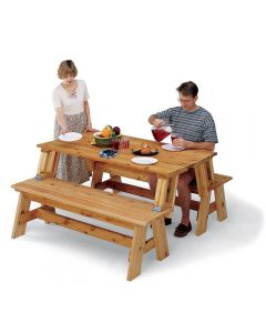 Build two great projects from one plan! (Wood and hardware not included)