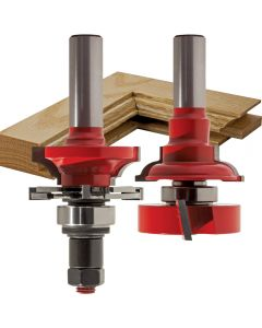"Freud® 99-763 Bead Rail and Stile Router Bit Set - 1-11/16"" Dia x 1-1/4"" H x 1/2"" Shank"