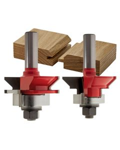 "Freud® 99-191 V Panel Router Bit Set - 1-11/64"" Dia x 1-1/8"" H x 1/2"" Shank"