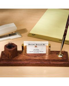 Combine with our Business Card Holder (35443) and Magnetic Paperclip Rings (39564) for an attractive desk set.