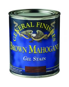 Gel Stain - General Finishes - Brown Mahogany