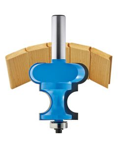 """Rockler Bead & Cove Canoe Building Router Bits - 1/2"""" Shank"""